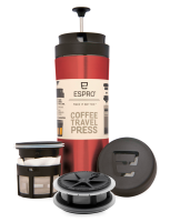 ESPRO Coffee & Tea Travel Press Explorer červený