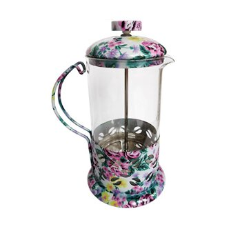 French Press KAFFIA kvet 600 ml